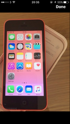 iPhone 5c sim free